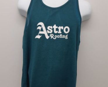 Rowing apparel for Team Astro Roofing