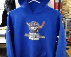 Hoodie design for Mount Pearl AtoMC Force