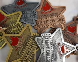 Custom made medallions for Skate Canada Star Challenge