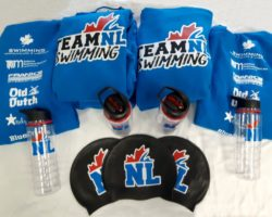 Clothing and promotional products for Team NL Swimming.