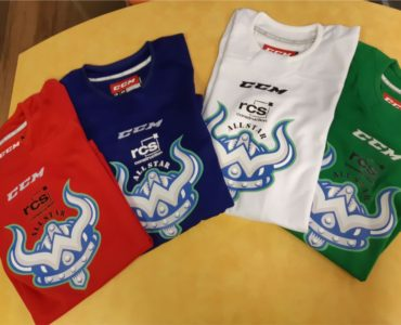 Paradise Warriors practice jerseys in a variety of colours.